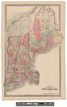 Township Map of New England 1874