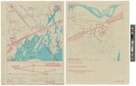 N.A.S. Brunswick Naval Airfield Approach Map 1946 by U.S. Coast & Geodetic survey