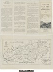 Guide Map of the Great Smoky Mountains National Park 1938 by A. J. Reixach