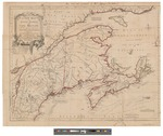 New Map of Nova Scotia and Cape Britain by Thomas Jeffries