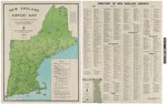 New England Airport Map by New England Council. Aviation Committee