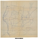 Map of Togus, Maine by Hugh Forrester Kirkwood