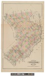 Map of Aroostook County, Maine 1900 by J.H. Stuart and Co