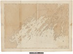 Harbours and rivers between Portland Point and Stage Island, Maine 1776 by Joseph F. W. Des Barres