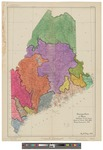 Drainage basins of Maine 1945 by Ray W. Tobey and Maine State Water Storage Commission