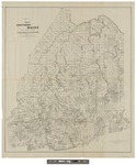 Map of Northern Maine 1897 by Harry Arthur Frink and Bangor & Aroostook R.R.