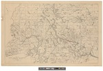 Map of the West Branch Watershed Penobscot River, Maine by Great Northern Paper Company