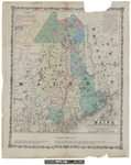 Map of the eastern part of Maine 1860 by Joseph Taney