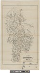 Map of Oxford County, Maine 1858 by Henry Frances Walling
