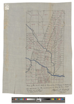 Plan of the West Half of Township K Range 2 WELS [Connor Township], 1879 by Albert A. Burleigh