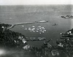 Matinicus Harbor from the air April, 1955