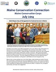 Maine Conservation Connection, July 2014