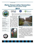 Maine Conservation Connection, January - February 2015 by Maine Conservation Corps