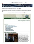 Maine Conservation Connection, July 2015 by Maine Conservation Corps