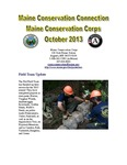 Maine Conservation Connection, October 2013