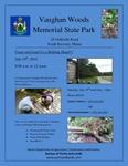 Vaughan Woods Memorial State Park Poster
