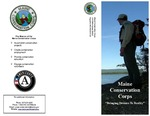 Maine Conservation Corps Brochure, 2008