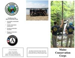 Maine Conservation Corps Brochure, 2012