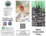 Maine Conservation Corps Brochure, 2015