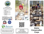 Maine Conservation Corps Brochure, 2014 by Maine Conservation Corps