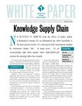 White Paper : Knowledge Supply Chain by Maine Technical College System and Center for Career Development
