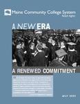 A New Era, A Renewed Commitment (July, 2003)