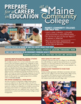 Prepare for a Career in Education and at a Maine Community College, 2003 by Maine Community College System