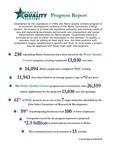 Maine Quality Centers Progress Report, 2014
