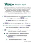 Maine Quality Centers Progress Report, 2013