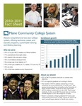 Maine Community College System 2010-2011 Fact Sheet by Maine Community College System