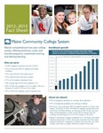 Maine Community College System 2012-2013 Fact Sheet by Maine Community College System