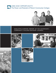 Jobs and Opportunity : The Power and Potential of Maine's Community Colleges (Executive Summary), 2006