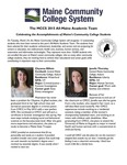 Maine Community College System 2015 All-Maine Academic Team by Maine Community College System