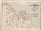 Map of Bar Harbor, Maine 1906 by Edward B. Mears Real Estate
