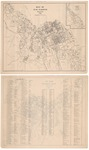 Map of Bar Harbor, Maine and Index of Residents 1907 by Bar Harbor Summer Residents Association