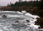 Big waves Shore Drive Acadia by Joseph Kelley