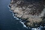 basaltic dike erosion Schoodic Pt by Joseph Kelley