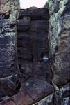 basalt diabase dike eroding by Joseph Kelley