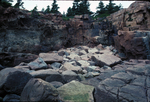 Boulder beach Monument Cove Acadia Nark by Joseph Kelley