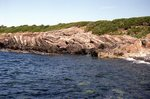 Biddeford Pool Rocks - Kittery Fm by Joseph Kelley