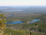 Basin Ponds from Hamlin Peak by Joseph Kelley
