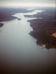 Damariscotta Estuary from air by Joseph Kelley