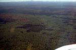 Air View of Peat Deposit - Aroostook Co.