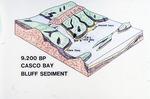 9200 BP Casco Bay Bluff Sediment