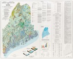 Surficial geologic map of Maine