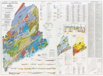 Bedrock geologic map of Maine
