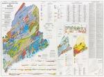 Bedrock geologic map of Maine