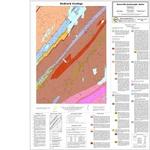 Bedrock geology of the Razorville quadrangle, Maine
