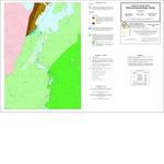 Bedrock geology of the Ellsworth quadrangle, Maine