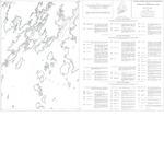 Coastal marine geologic environments of the Friendship quadrangle, Maine